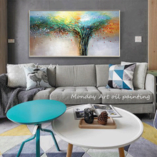 цена на Canvas Art Hand painted modern Oil Painting on Canvas abstract Art Oil Painting pictures for living room hotel office Wall Decor