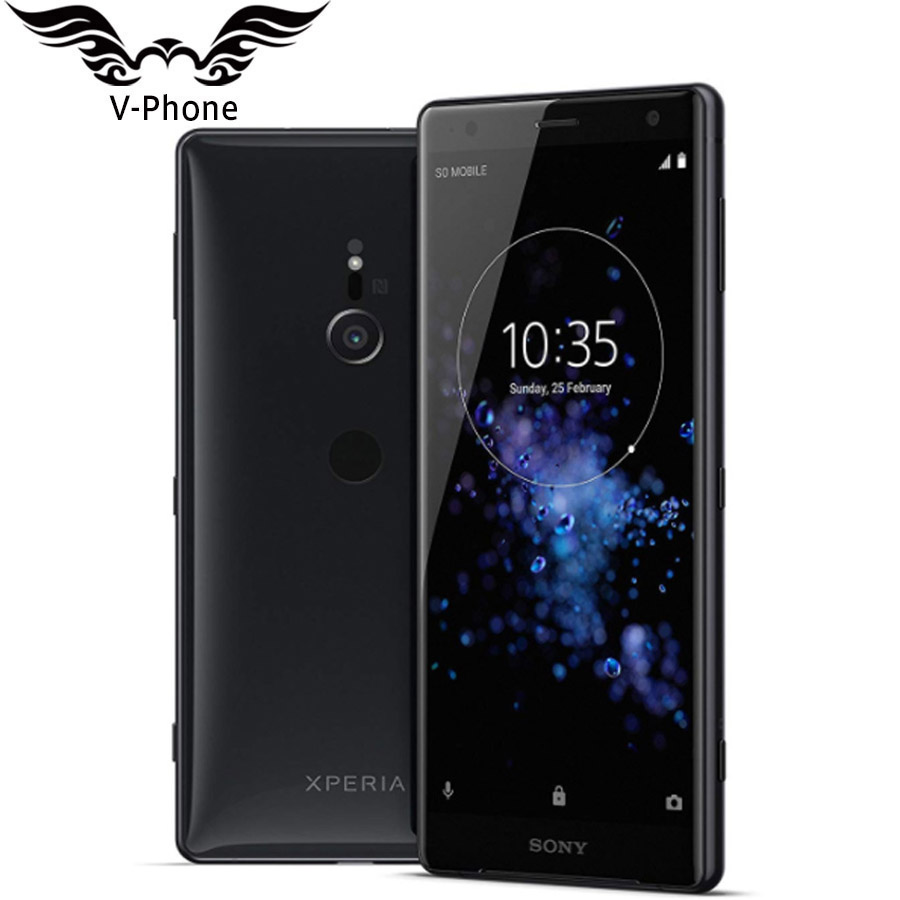 "Brand New Sony Xperia XZ2 H8296 Dual SIM Mobile Phone 6GB RAM 64GB ROM 5.7"" Snapdragon 845 Octa core Android NFC 4G SmartPhone"