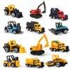 חדש מיני Diecast צעצועי משאיות הנדסת בניית רכב רכב אשפה חופר דגם אוסף צעצוע חינוכי עבור בני ילדים