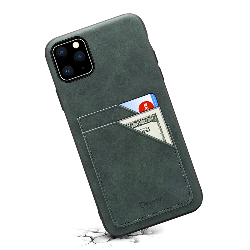 Double Card Leather Case for iPhone 11/11 Pro/11 Pro Max 14