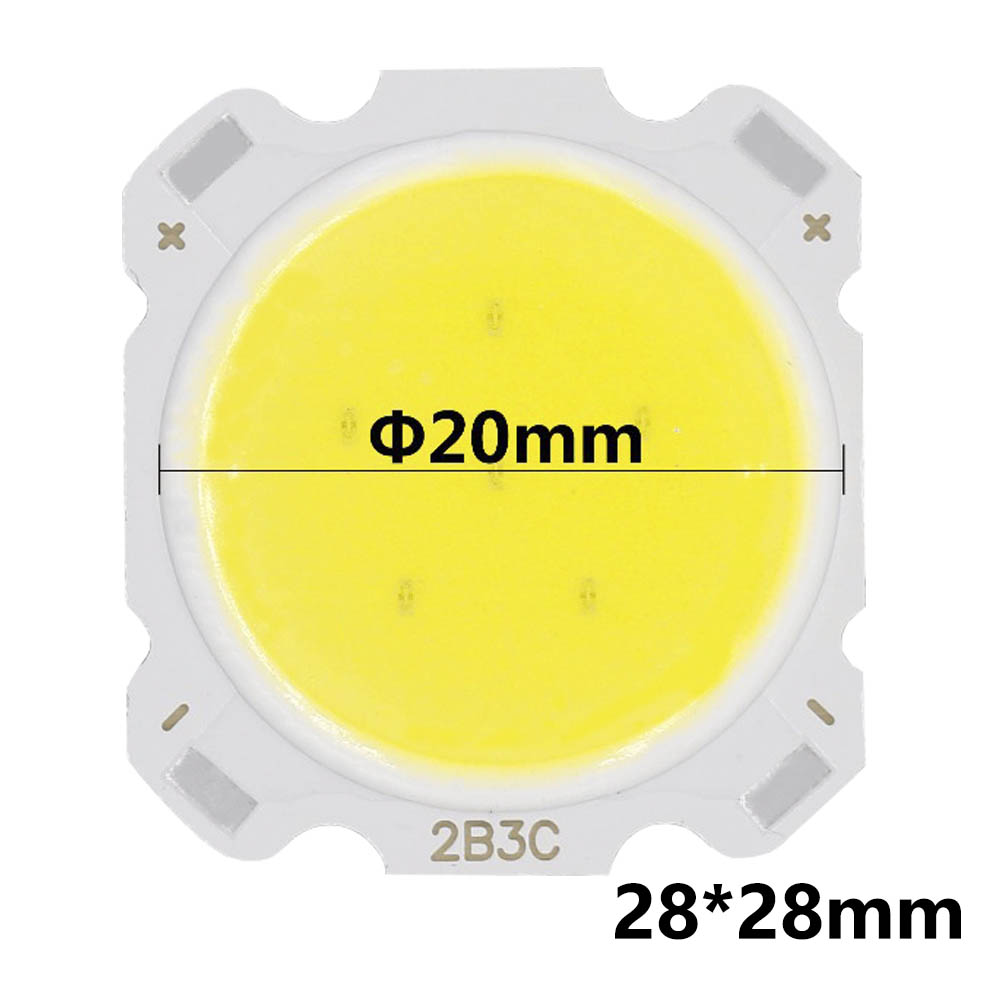 10pcs a lot 3W <font><b>5W</b></font> 7W 10W LED COB Light <font><b>Bulb</b></font> On Board High Power LED Chip Light Lamp SpotLight Downlight Lamps image