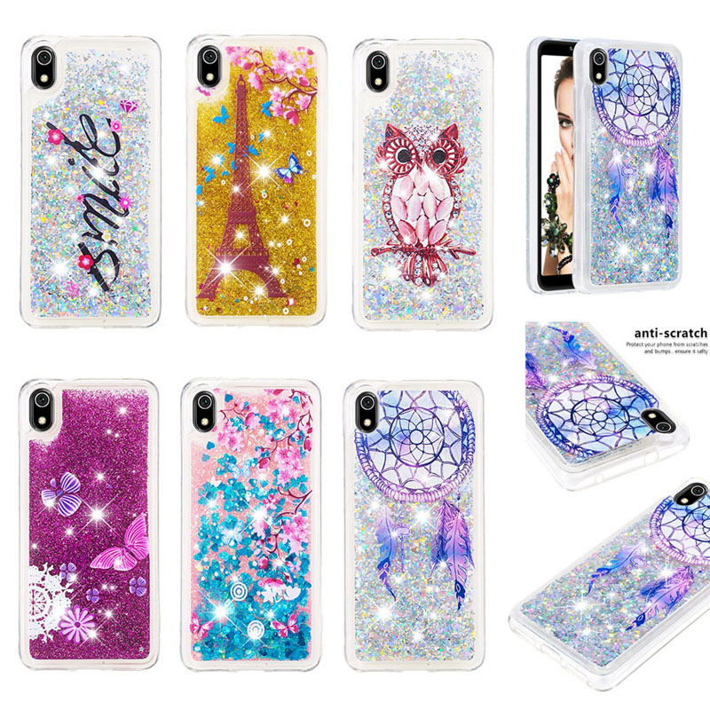 Luxury Liquid Sand Glitter Quicksand Case Soft Silicone Phone <font><b>Cover</b></font> for <font><b>Samsung</b></font> Galaxy A01 <font><b>A10S</b></font> A20S A21 A51 A71 A81 A91 M30S image