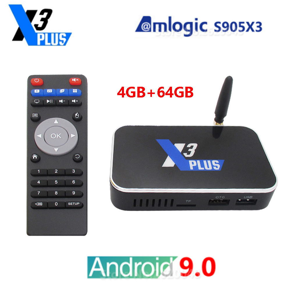 1-UGOOS-X3-Plus-Android-9-0-Smart-Tv-Box-Amlogic-S905X3-Set-Top-Box-4GB-DDR4