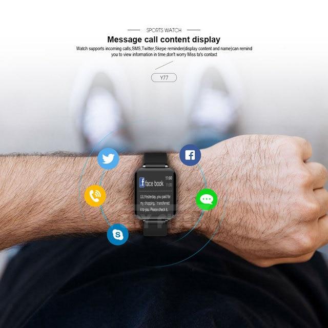VERYFiTEK B57 montre intelligente pression artérielle oxygène Fitness Bracelet montre moniteur de fréquence cardiaque IP67 hommes femmes Sport Smartwatch B57 5