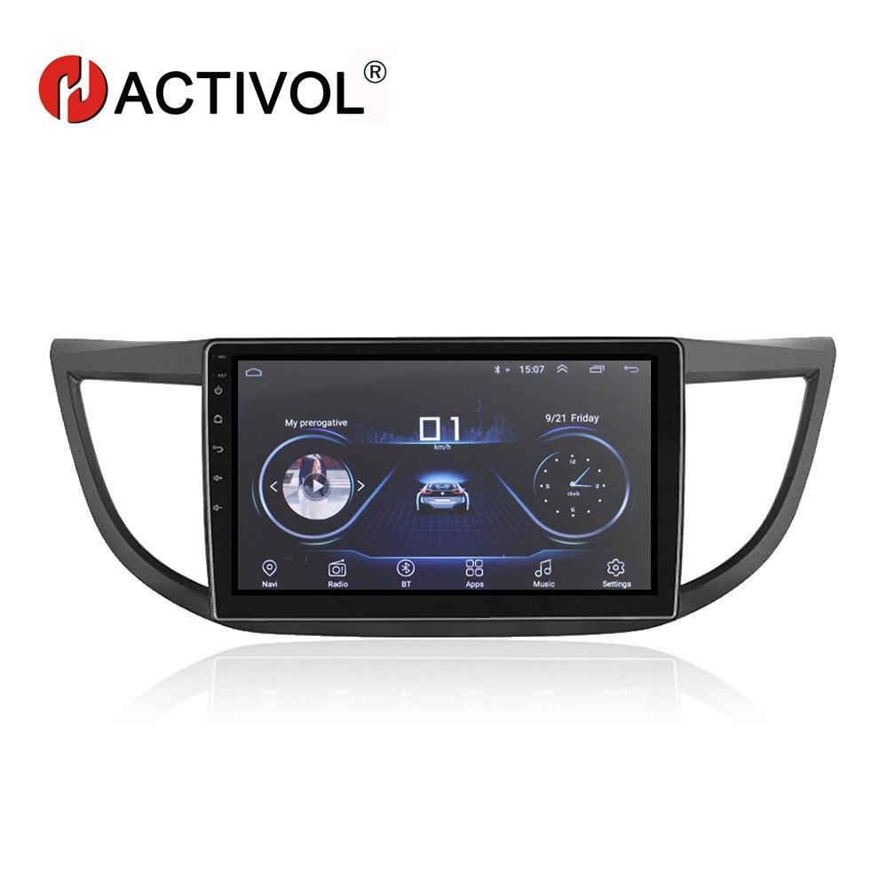 "HACTIVOL 10.1"" 1024*600 Quadcore android 8.1 car radio gps navi for HONDA CR-V 2012-2015 car DVD player with 1G RAM 16G ROM"