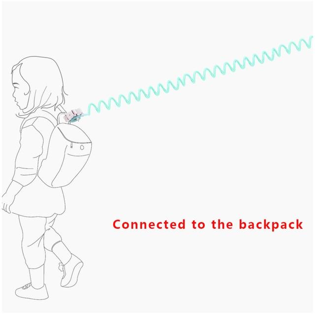 1.5M 2M 2.5M Toddler Kids Baby Safety Walking Harness Anti-lost Strap Wrist Leash Children Hand Belt Rope 4