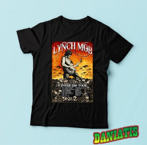 T-Shirts Sizes S-5XL New Authentic Mens Dokken Back Attack Tee Shirt