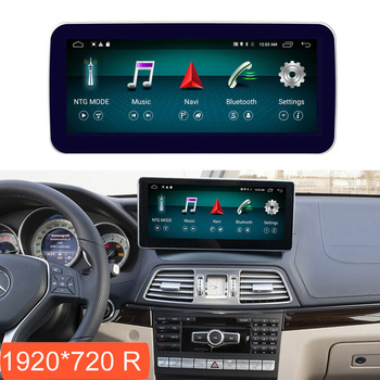 """10.25"""" 4+64G Android 8.1 Display for Mercedes Benz E Coupe C207 2009-2016 Car Radio Screen GPS Navigation Bluetooth Touch Screen"""