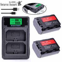 NP-FZ100 NPFZ100 NP FZ100 NP FZ100 Batterie + TYPE-C DUAL USB ladegerät für Sony NP-FZ100, BC-QZ1, sony a9, a7R III, a7 III, ILCE-9