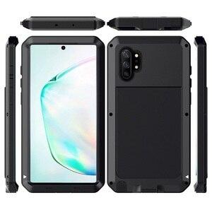 Image 5 - Pancerz 360 pełna obudowa ochronna do Samsung Galaxy S20 Ultra note 10 plus obudowa metalowa do samsung S10 Plus S10e obudowa odporna na wstrząsy Coque