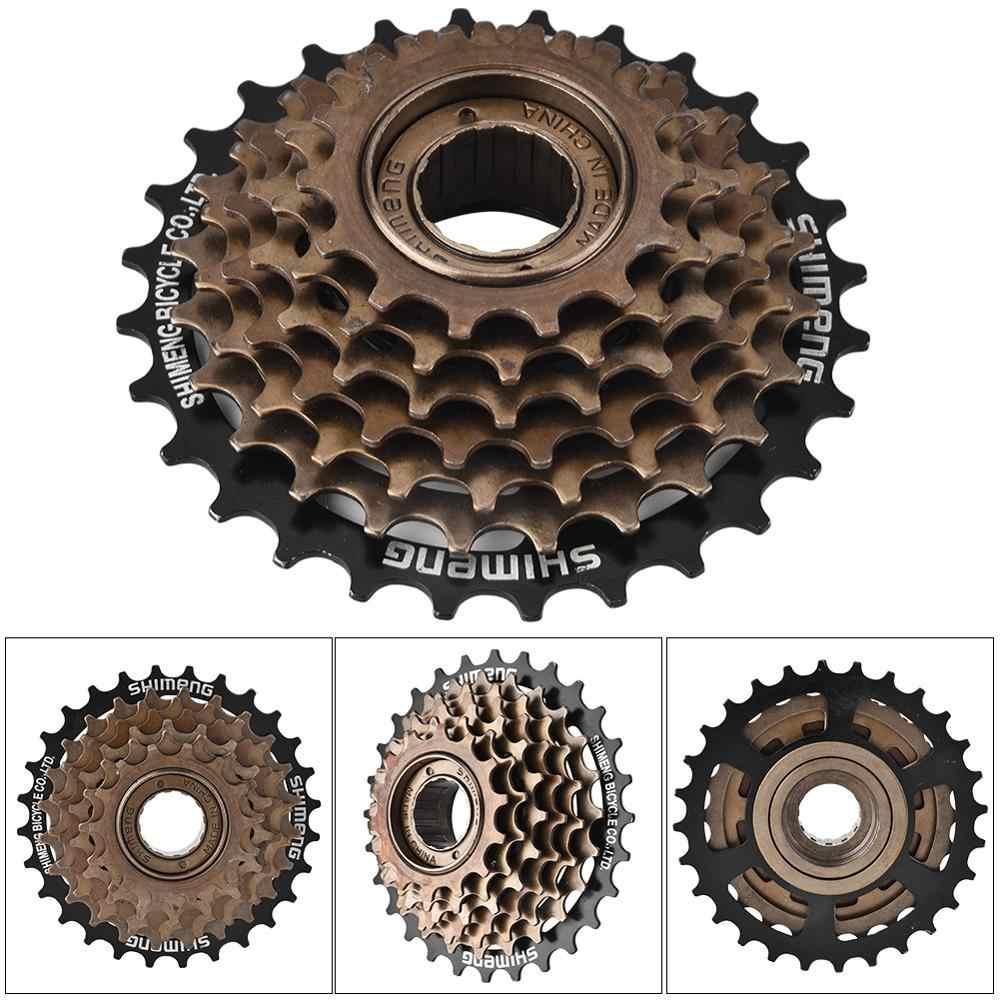 7 Speed Bike Cassette Freewheel 12-28T Bicycle Sprocket Flywheel Cycling Gear