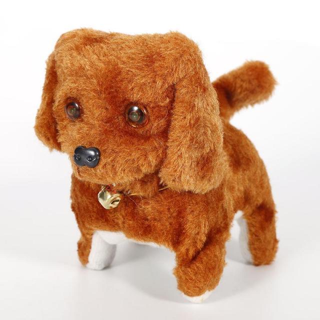 Electronic Dog Stuffed Animals & Plush Plush  Electric Walking Barking Puppy Kids Soft Plush Dog Toy With Light Up Eyes Latest
