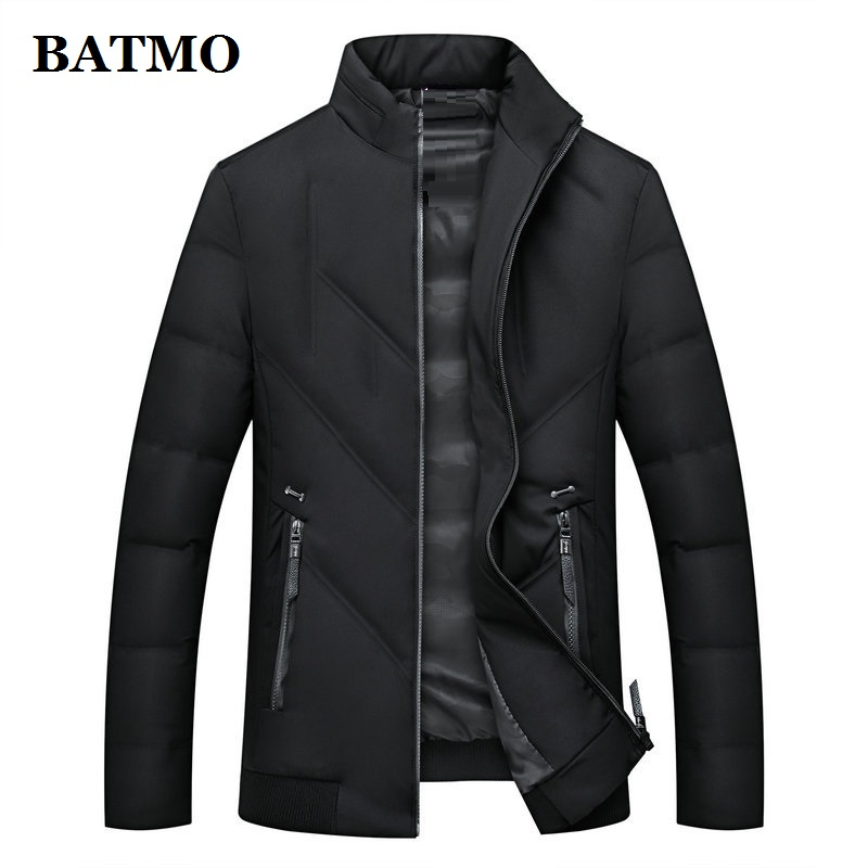 BATMO 80% white duck   down   jackets men,new arrival winter   down   jackets,warm   coat  ,size L-4XL 8803