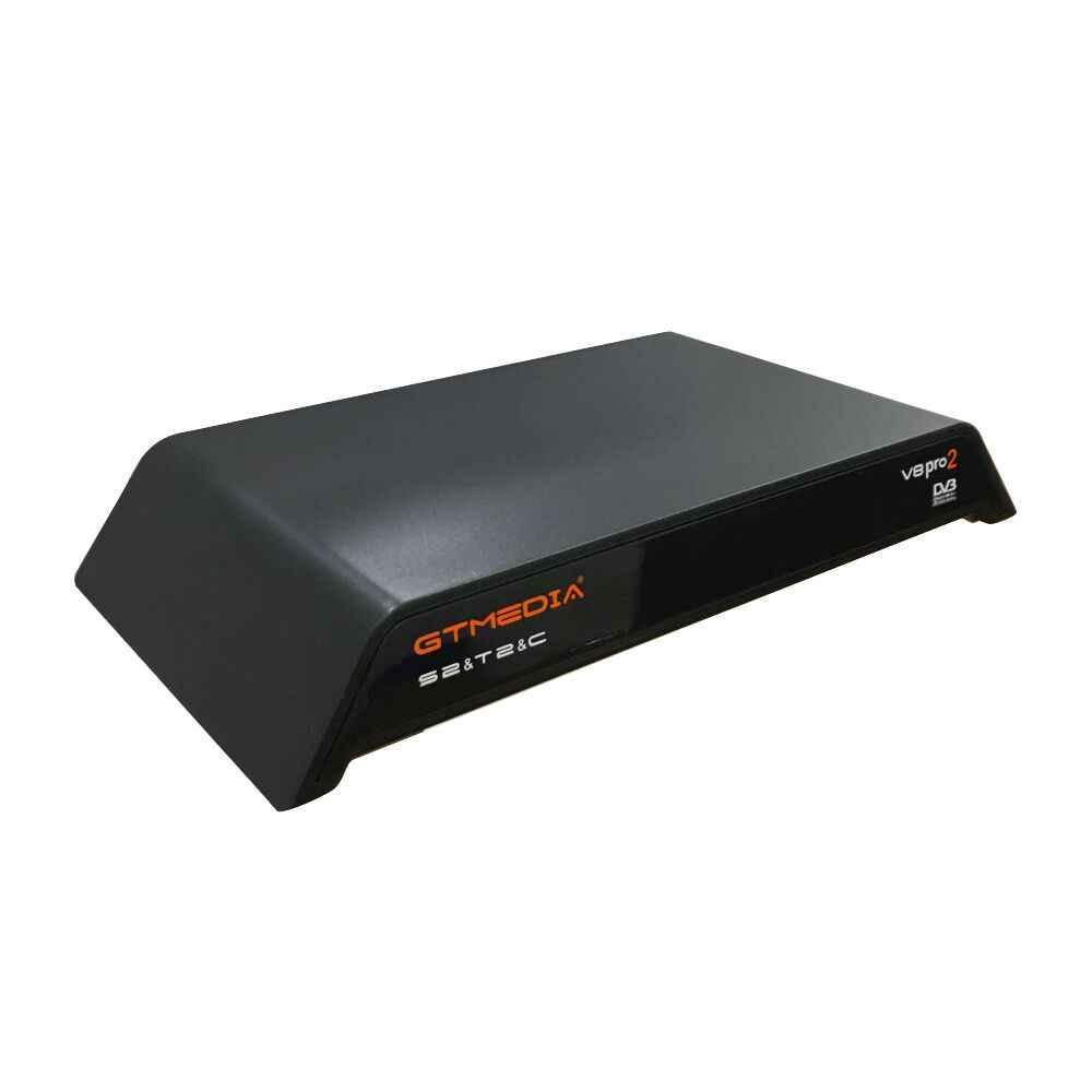 GTmedia V8 Pro 2 decoder DVB-S2/T2/Cable J83.B Built-in WiFi H.265 Support IPTV CCCAM NEWCAM CS Satellite Receiver fromBrazil