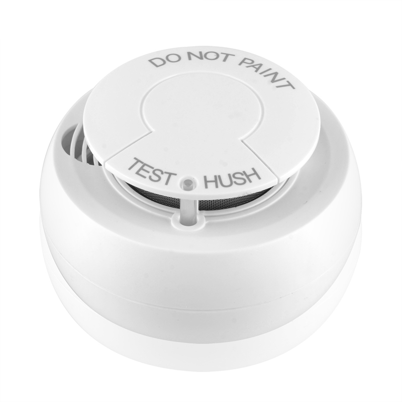 Wifi Smoke Detector Fire Alarm Security System Smart Smoke Sensor Smart Life Tuya App
