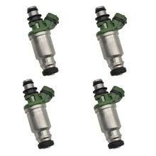 Marka yeni 4 adet 23250 74100 23209 74100 2325074100 motor yakıt enjektörleri TOYOTA MR2 Celica Camry 2.2L 5S FE Carina RAV4 2.0
