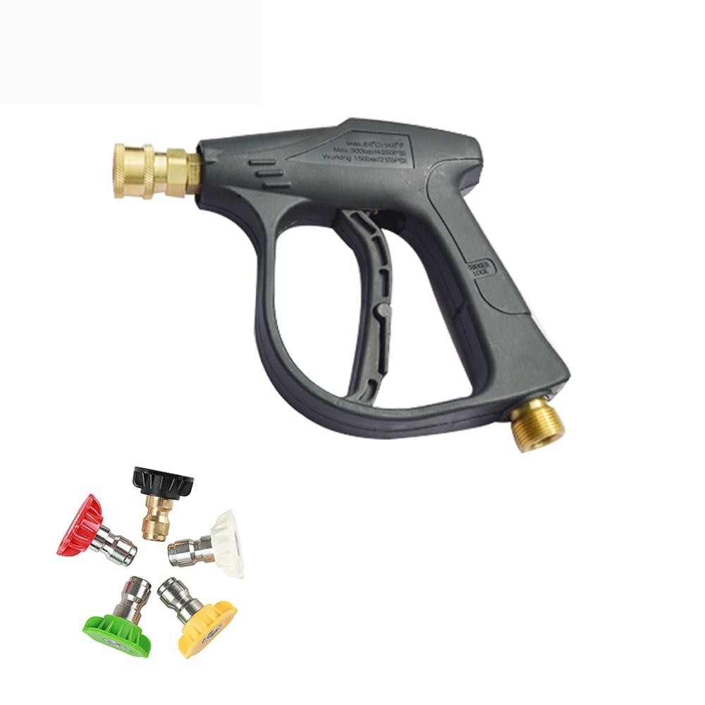 Kit di 5 ugelli ad Acqua Max 4000 psi Punta 1//2 BSP Dust Wash Tools per la Pulizia di Pavimenti di Auto e finestre Pistola idropulitrice ad Alta Pressione Estink