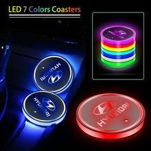 Автомобильные электронные светящиеся подставки автомобильная