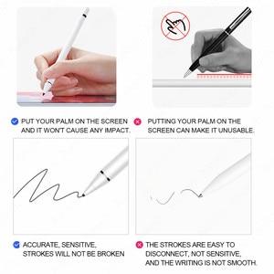 Image 2 - Stylus iPad iPad için iPad Pro 11 12.9 2020 10.2 2019 9.7 2018 hava 3 mini 5 palmiye reddi akıllı dokunmatik kalem için Apple kalem