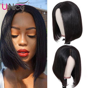 Unice Hair 13*4/6 Lace Front Human Hair Wigs 8-14