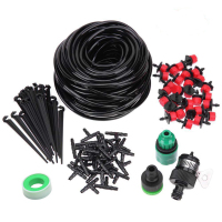 5/10/25m DIY Drip Irrigation System Automatic Watering Garden Hose Micro Drip Watering Kits With Adjustable Drippers|Garden Sprinklers|   -