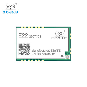 Image 2 - SX1262 LoRa TCXO 230MHz 30dBm SMD E22 230T30S Wireless Transceiver IPEX Stamp Hole 1W Long Distance Transmitter and Receiver