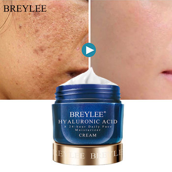 BREYLEE Hyaluronic Acid Moisturizing Face Cream Whitening Smoothing Face Day Cream Remove Dark Spots Acne Treatment Skin Care недорого