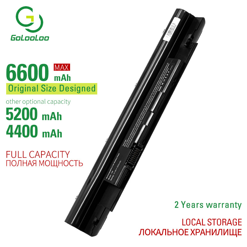 Golooloo 6 Cells Laptop Battery For Dell Inspiron 13Z 14Z N311z N411z Vostro V131 V131D V131R Latitude 3330 268X5 312-1257/1258