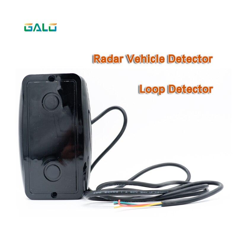12V To 24V Car Access Control Radar Vehicle Detector Sensor/safety IR Detectors For Gate Barrier Opener Motor Engine