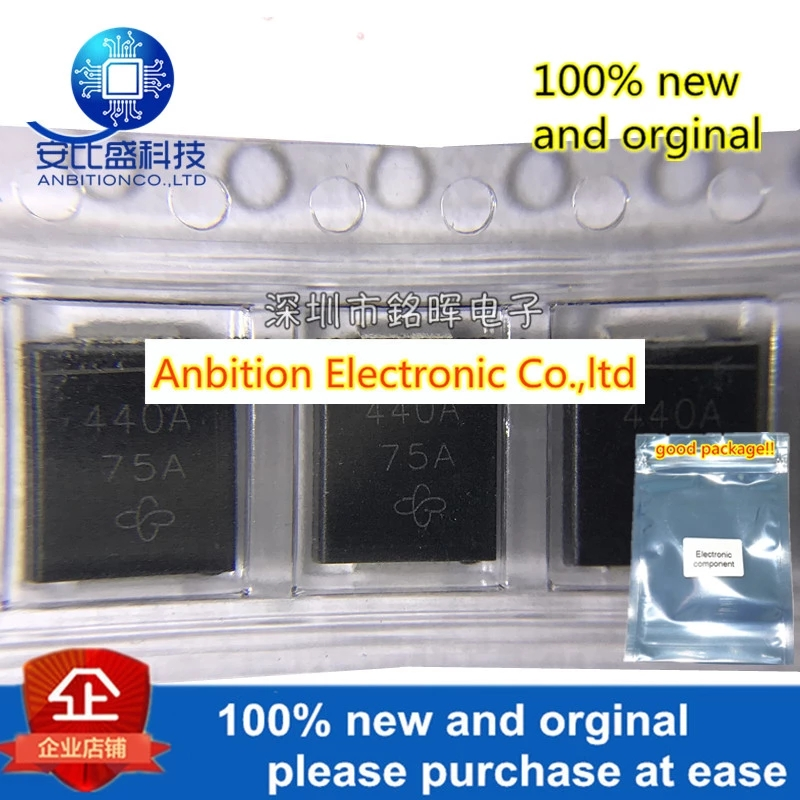 10pcs 100% New And Orginal 1.5SMC440A Silk-screen 440A SMC DO-214AB 1500W In Stock