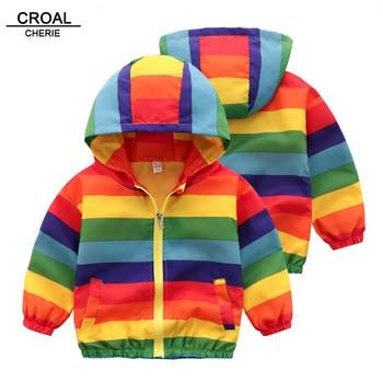Hooded Animal Patterned Autumn Coat 6