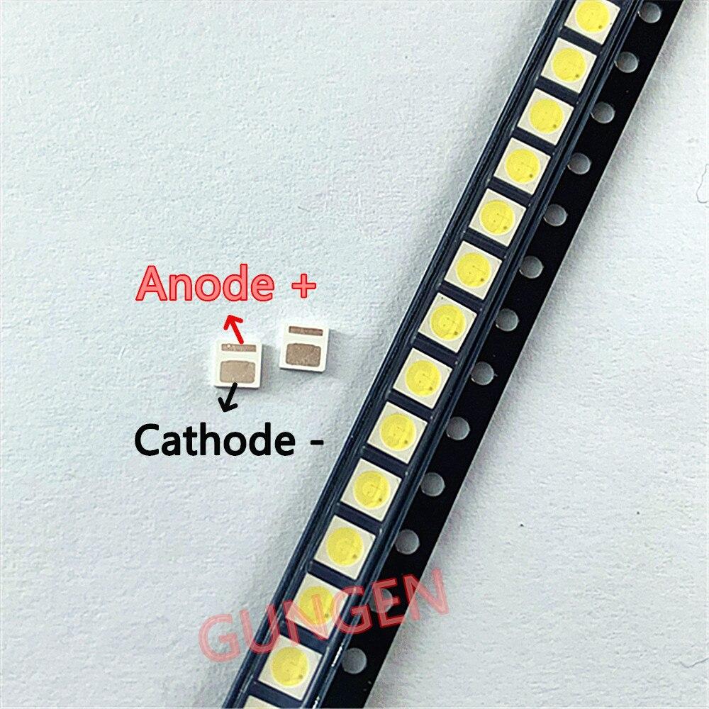 200pcs Original FOR LEXTAR LED 3030 3V Lamp Beads 1.6W LCD TV Backlight Lamp Beads 3V Cool White With Zener Pressure 3030