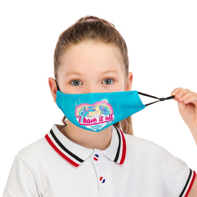 Reusable Children Mask Protective PM2.5 Filter mouth Mask anti dust Face mask bacteria proof Flu Mask Fast Delivery Kids Mask 2