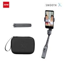 Zhiyun suave x telefone cardan handheld estabilizador selfie vara palo smartphones para iphone samsung huawei xiaomi redmi