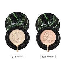2020 fond de teint étanche BB crème champignon tête coussin d'air durable huile contrôle CC crème naturel éclaircissant maquillage