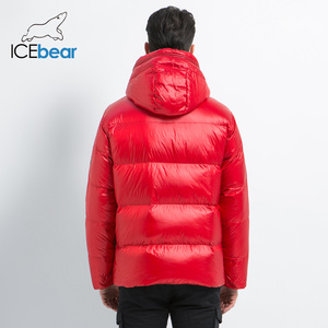 Image 4 - Icebear 2019 新冬メンズダウンジャケットスタイリッシュな男性ダウンコート厚く暖かい男服ブランドのメンズアパレルMWD19867I