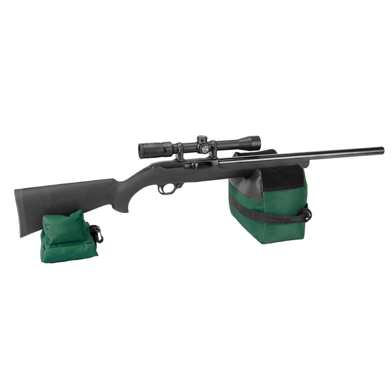 Shooting Rest Rear Bag Set Portable Front & Rear Rifle Target Tactical Bench Unfilled Stand Hunting Accessories