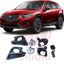 OEM Fog Lights Halogen Lamp Kit for 2014 2015 2016 Mazda CX-5 cx 5 oem fog lights halogen lamp kit for 2014 2015 2016 mazda cx 5 cx 5 ka0h v4 600