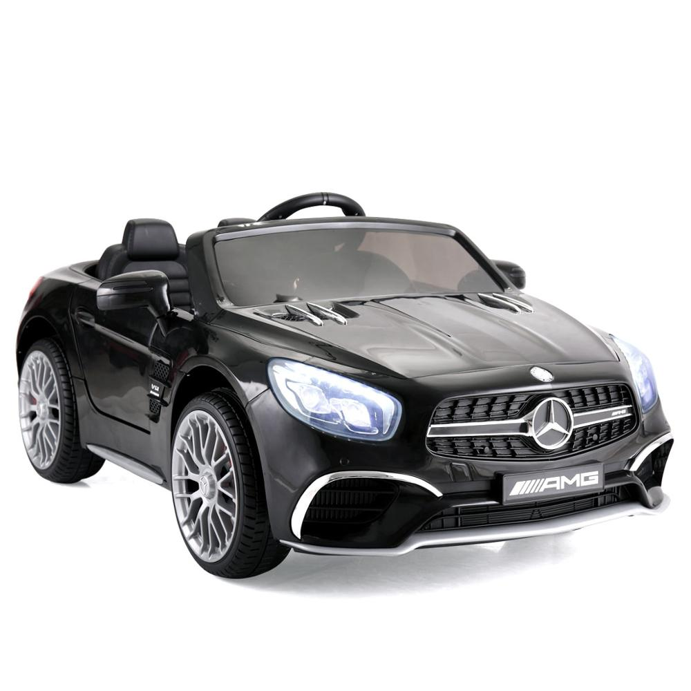 Licensed Mercedes Benz Children Ride On Car With Remote Control For Kid Aged 2-8 4-wheel Car Toy 12V Power Battery AMG GT TY0461