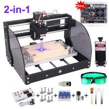 Wood Router Laser-Engraving-Machine Engraver Offline Upgraded Milling Cnc 3018 Max-Laser