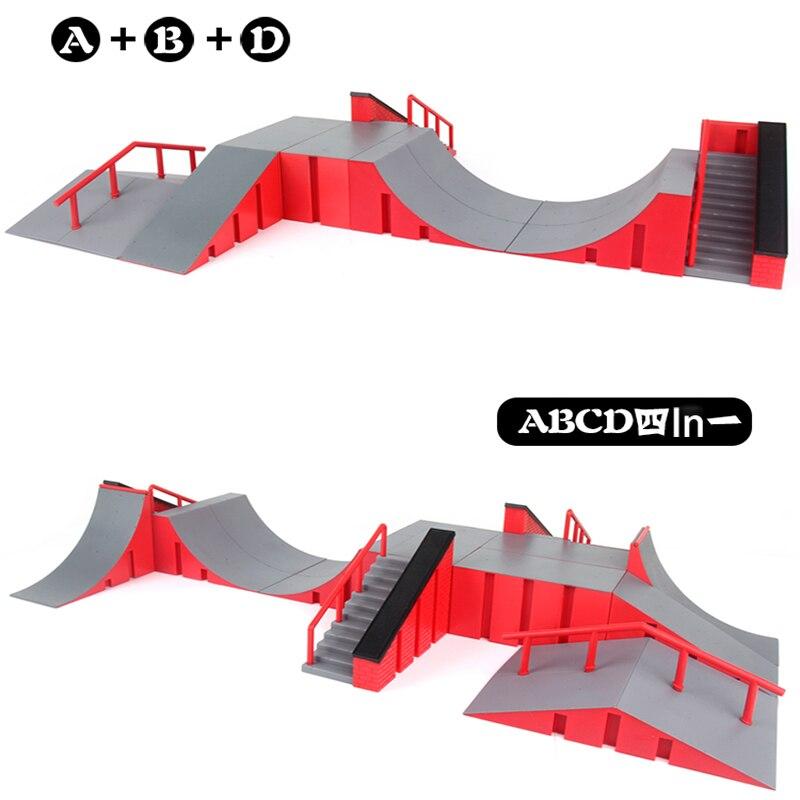 Мини-игрушка для скейтборда скейт-парк для техдека скейтборд пандусы Экстрим парк тренировочная доска игрушки для детей