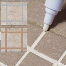 Home Decor Tile Marker Repair Wall Pen Refill Grout Refresher Marker Kitchen Bathroom Cleaner
