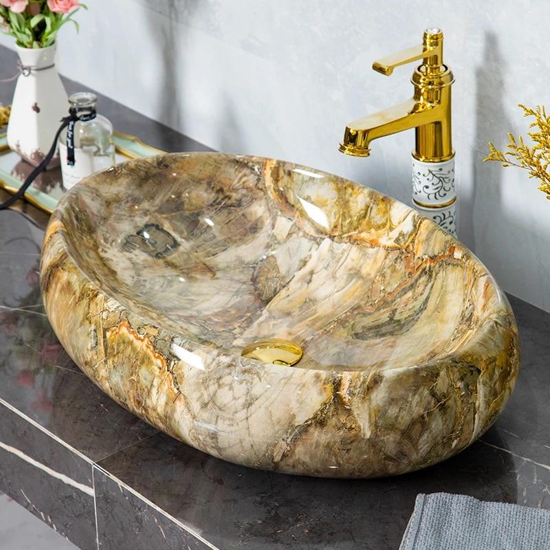 Ceramic Sink Bathroom