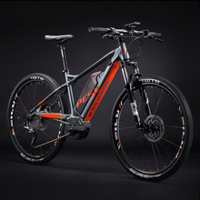 XC 27 5inch electric mountain ebike 10speed variable speed system 36V350w mid drive motor electric bicylce