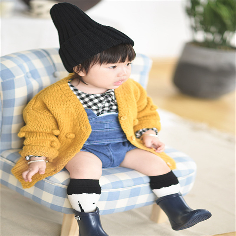 0 24MYears Old Baby Girl Sweater Child 19 Winter Ball In Hand Down Sweater Cardigan Jacket Cardigan For Girl Girls Cardigan in Sweaters from Mother Kids