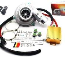 Электрический Турбо SuperchargXiaoKe er комплект тяги мотоцикла Электрический турбокомпрессор воздушный фильтр Впускной для всех автомобилей Повышение скорости