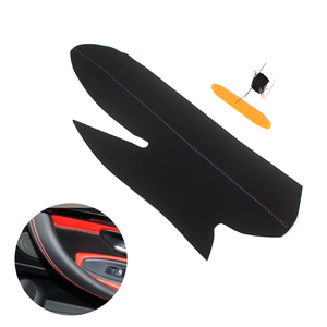 Image 1 - For BMW 3 4 Series 2013 2014 2015 2016 2017 M4 Sport Hand Sewing Door Armrest Handle Panel Pull Microfiber Leather Cover