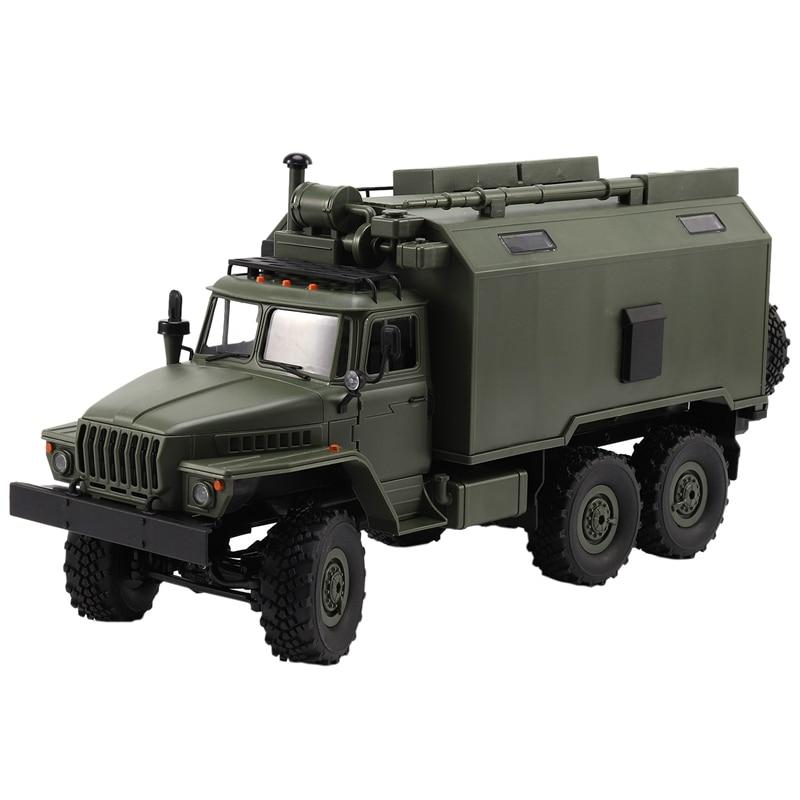 Wpl B36 Ural 1/16 2.4G 6Wd Rc Car Truck Rock Crawler Command Communication Vehicle Rtr Toy Auto Army Trucks