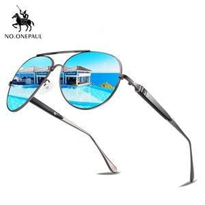 Driving Sunglasses Metal-Frame Square NO.ONEPAUL Fishing UV400 Polarized Male New-Fashion
