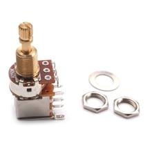 Switch-Knob Potentiometer-Volume Guitars-Control A500K B250K Push Pull